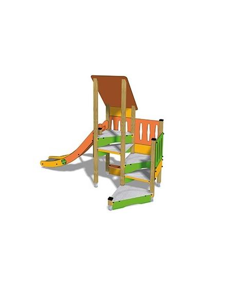Togo D1054 legno con plinti 855 PREMONTATO