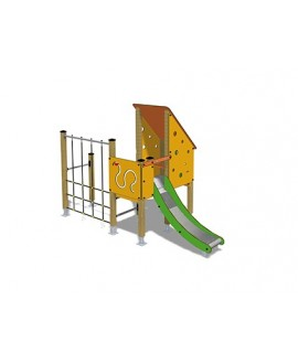Togo D1058 legno con plinti 855 PREMONTATO