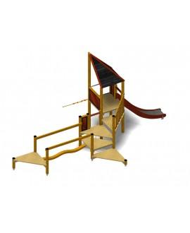 Modulo Più 152/005 con plinti h855mm