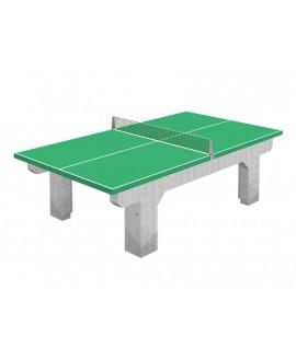 Tavolo da ping pong in cemento