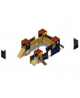 Castello di Bibbiena con plinti h855 mm