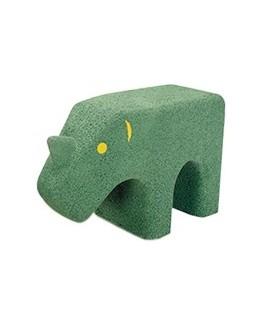 Rinoceronte in gomma