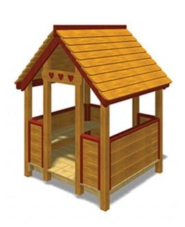 Friends House A grezza con plinti h 855 mm MONTATA