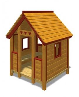 Friends House B grezza con plinti h 855 mm MONTATO