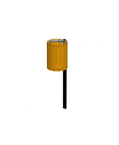 Cestino ISIDORA giallo senza anello