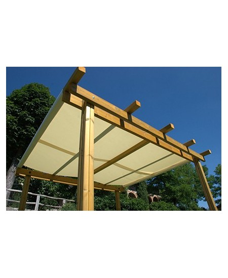 Telo acrilico parasole per pergolati L. 120 cm