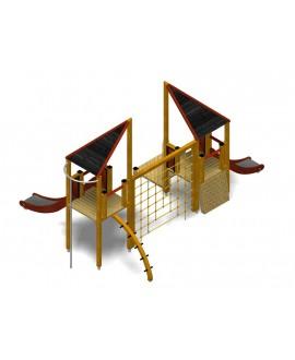 Modulo Più 152/003 con plinti h855mm