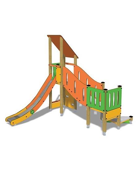 Togo B2051 legno con plinti 855 PREMONTATO