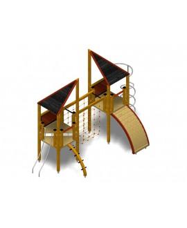 Modulo Più 152/004 con plinti h855 mm