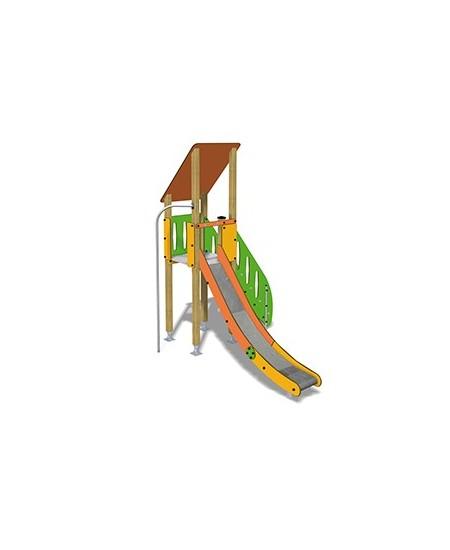 Togo D1055 legno con plinti 855 PREMONTATO