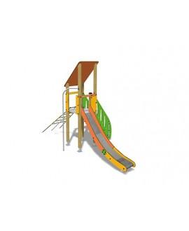 Togo D1056 legno con plinti 855 PREMONTATO