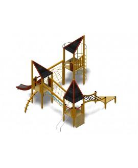 Modulo Più 154/001 con plinti h855 mm