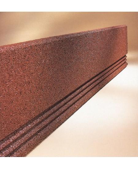 Cordolo elastico in gomma rosso tlf-tile