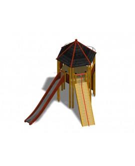 Gioco Modulo Più  ESA 158/A001 con plinti h855mm