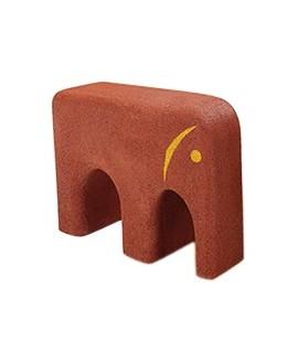 Elefante in gomma