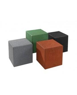 Cubo in gomma