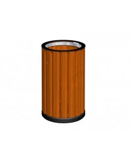 Cestone ANDRIA rivestito legno con anello