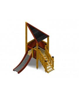 Modulo Più 151/012 con plinti h855 mm