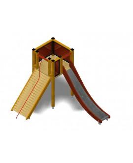Modulo Più 151/021B con plinti H855 mm