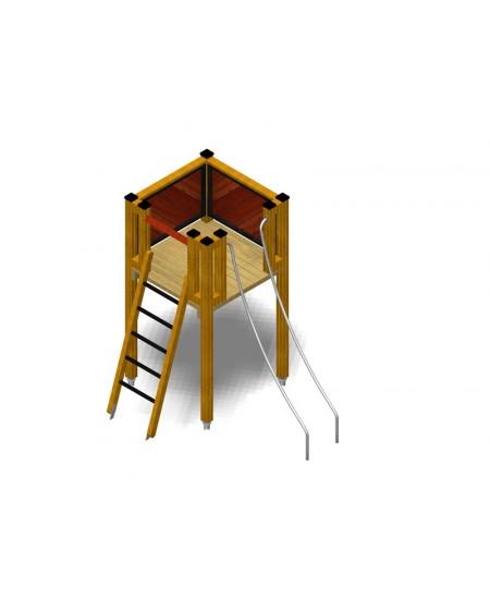 Modulo Più 151/021C con plinti H855 mm