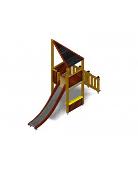 Modulo Più 151/022D con plinti H855 mm