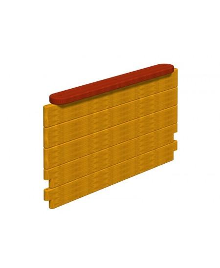 Pannello Miraggi 140X77 per assemblaggio con 2 pannelli 34h.