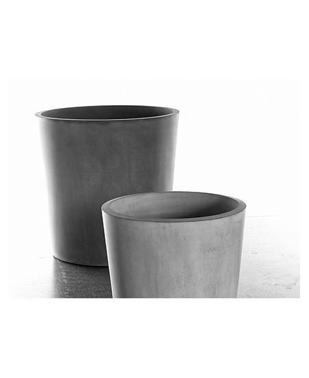 FIORIERA PATO 07 LARGE colore grigio cemento