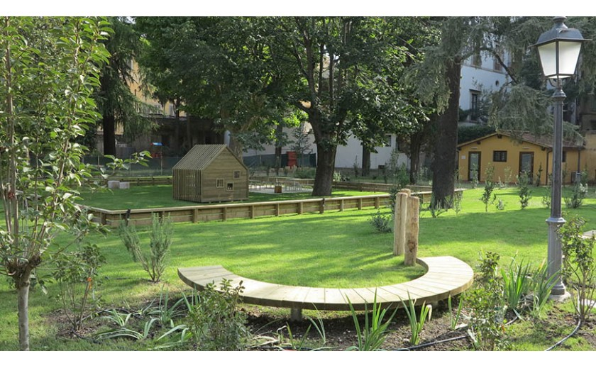 Giardino dell 39 istituto degli innocenti firenze for Sistemazione giardino